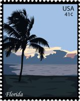 SP: Stamp - Flordia by EdElricsGirl