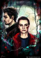 Stiles Stilinski- The boy who runs with wolves by manulys