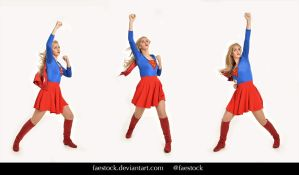 Supergirl  - Stock model reference pack 5 by faestock
