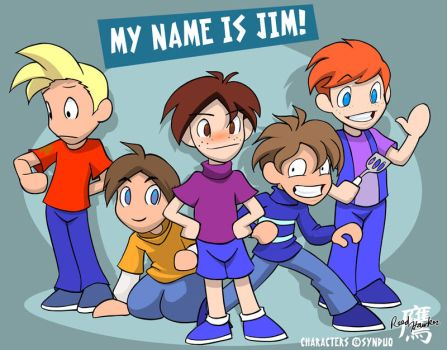 'My Name is Jim' by thelaserhawk