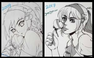 Draw this again 2017 by JennyJinya