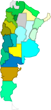 Colorful Argentina (without names) by Jordan2048