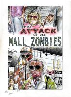 Attack of the Mall Zombies by croovman