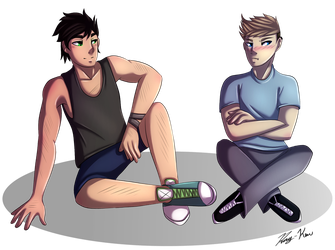 Gift- Nathan and Elliot by Ray-Ken