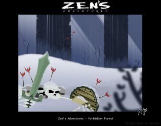 Zen's Adventures 2012 painting 2 by R3dF0x