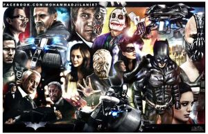 The Dark Knight Legacy by Art-by-Jilani
