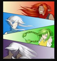 Red-Blue-Green-Black by CaptainMoony