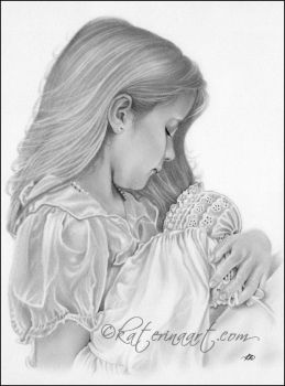 Little Mommy by Katerina-Art