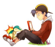 Pkmn - Gold Diary - by LazyTurtle