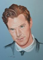 Benedict Cumberbatch by Andromaque78