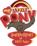 Commission: Downpourpony is best pony! by Topas-Art