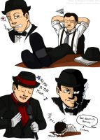 Harvey Finevoice doodles by Demon-Sheep-Studio