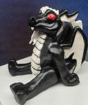 Custom Order Dragon Sculpture by The-GoblinQueen