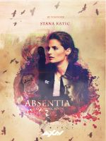 Absentia || Stana Katic || Poster 2 by yoaskaxx