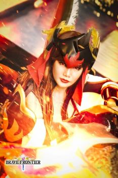 Fire God Lava: Brave Frontier by ayaninna