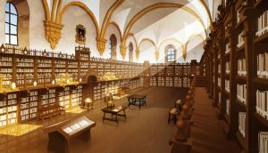 Uni. of Salamanca Library by javieralcalde