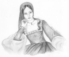 Anne Boleyn by FaeLaVie