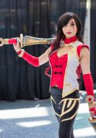 Warring Kingdoms Katarina Cosplay by silent-requiem