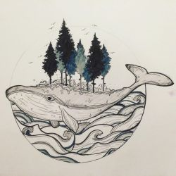 Land and Sea by Salix-Tree