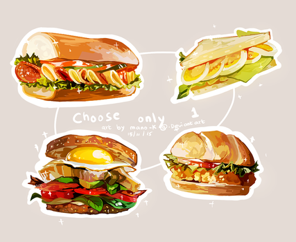 Sandwiches by mano-k