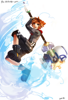 Sora-toy-kh3 by Pun-Rii