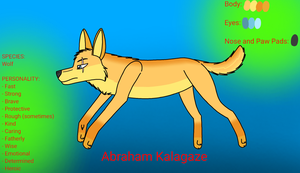 Character Reference: Abraham Kalagaze by KasiArtsAndStories18