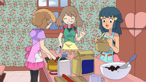 Girls Cooking Together by figwine