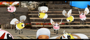 MMD pokemon: Cutiefly by kaahgomedl