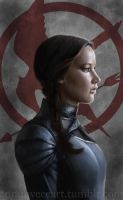 Katniss Everdeen the Mockingjay by iMMuhUnic0rn