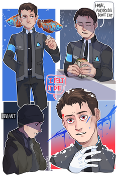 [Detroit: Become Human] Instability dump by M-F-W