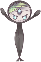 Annoyed Diver Meloetta  Commission