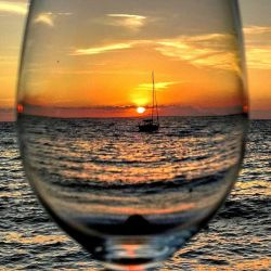 The sea in a the Glass!!! by Dioscuriwine