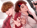 taekook   #btscoloringbookproject by ShizuKelv