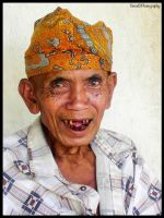 CENTRAL BALI, OLD MAN by IME54-ART