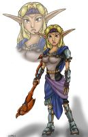 Jak and Daxter- Lady Amara by combatmaster