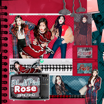 400 ROSE (BLACKPINK) Png pack #01  by happinesspngs