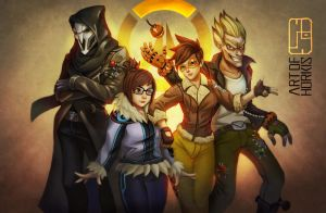 Casual overwatch by Beyond-your-soul