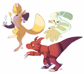 Tamers by rollingrabbit