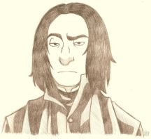 Snape is not amused by Kriegswaffle