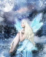 Winter Fairy by howsoonisnever