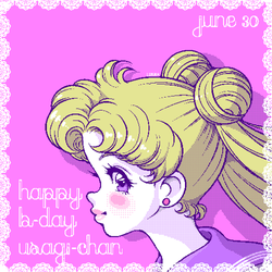 Happy B-day Usagi-chan - Pixelart by Arumi-Kun
