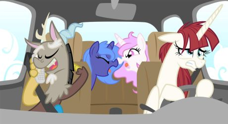 I'LL TURN THIS DAMN CAR AROUND by Equestria-Prevails