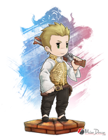 Final Fantasy XII : Balthier by Milee-Design