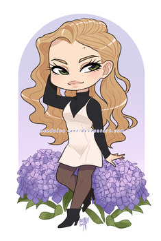 Gift - Vahnia Prize Chibi by Beedalee-Art
