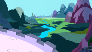 Daytime View From Canterlot by StarshineCelestalis