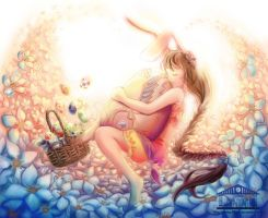 BUNNY EASTER:Easter Competition! by linnil