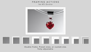 Framing actions - 3 - Double by chain