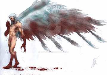 Fallen Angel - Colored by SaTTaR