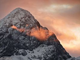 Rock, Ice, Fire by photogrifos