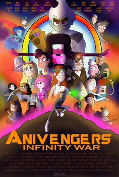 Anivengers: Infinity War by E350tb